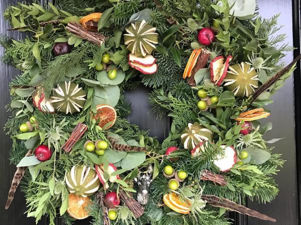 Christmas Wreath Workshop & Lunch – 12 Dec 2019